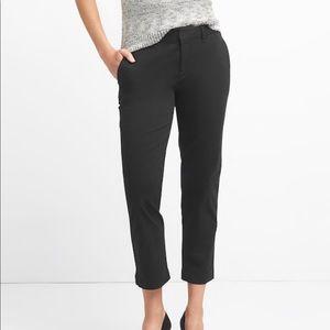 New Gap Slim Cropped Black Pants 👖 2R